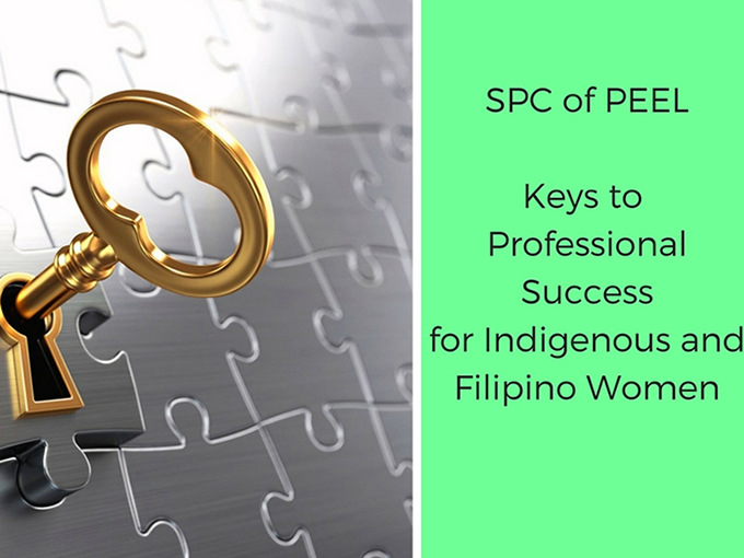 Keys to Success for Indigenous and Filipino Women
