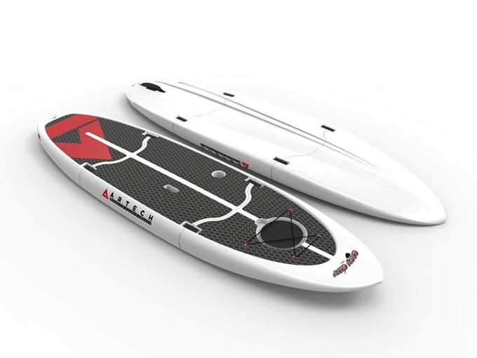Easy Eddy Three-Piece Modular Paddle Board