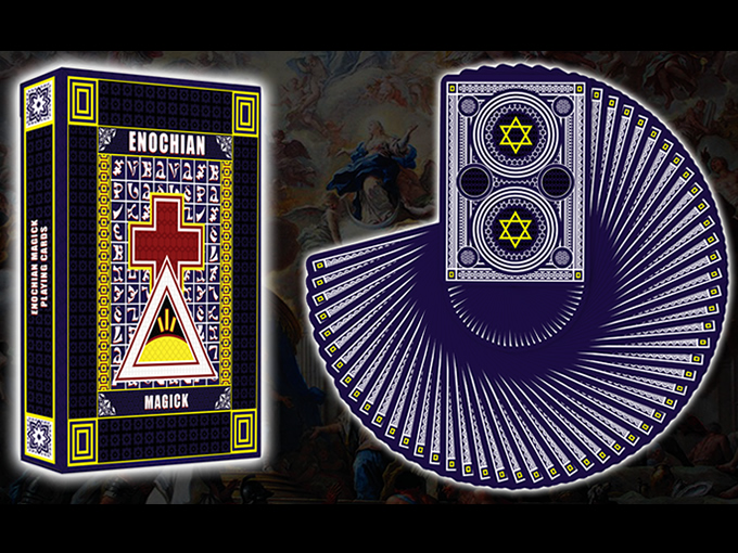 Enochian Angels Playing Cards