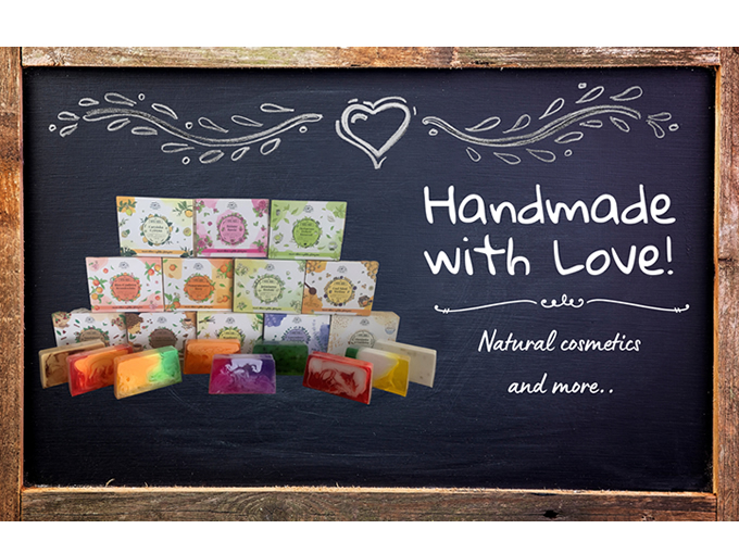 Handmade with a lot of love!