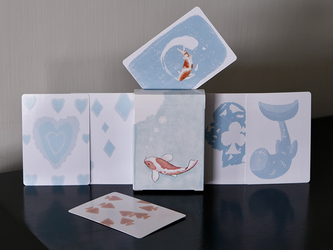 Koi Playing Cards
