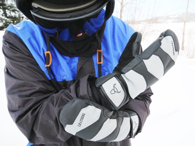 Leathers Premium Hand Wear for Skiers and Snowboarders