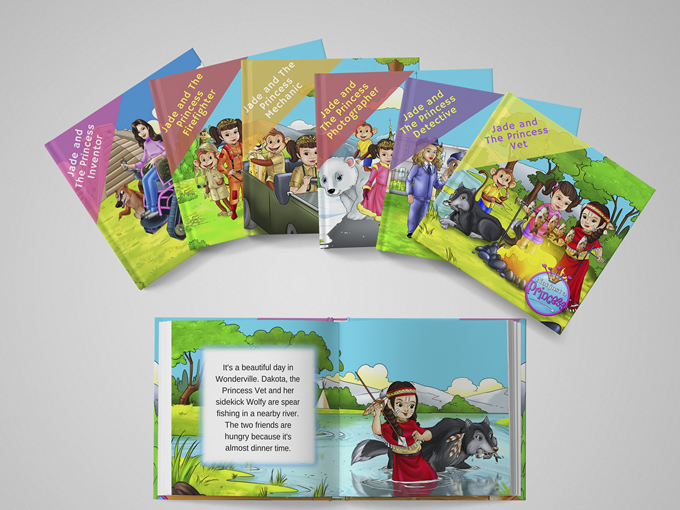 Not JUST a Princess Book Series
