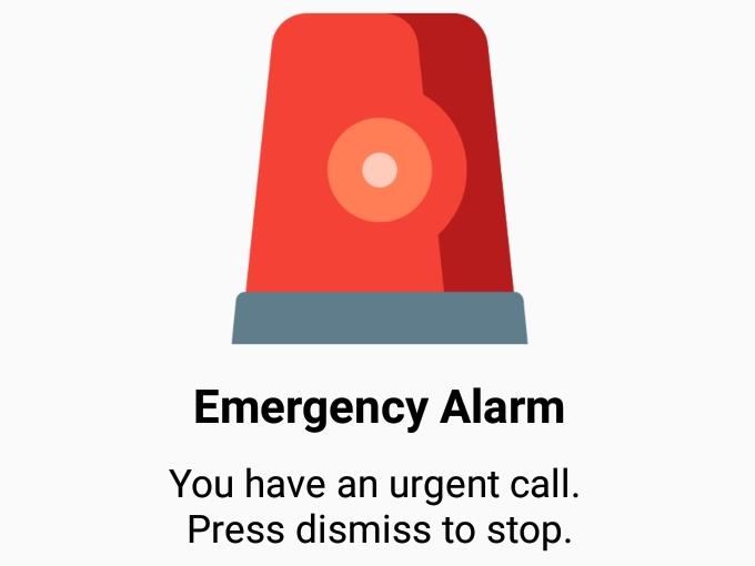 Emergency Ringer