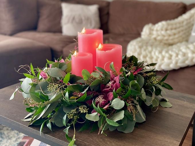 Spiral Light Candles
